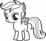 Pony Coloring Printable Getcolorings sketch template
