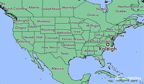 raleigh nc raleigh north carolina map