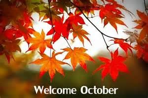 Welcome October Month Clip Art