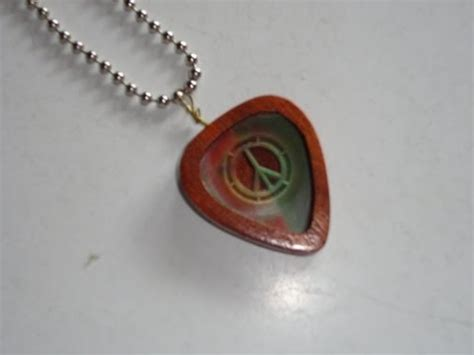 guitar pick holder  necklace pendant youtube