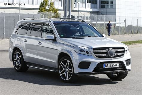 New Mercedes Gls by 2016 Mercedes Gls Almost In New