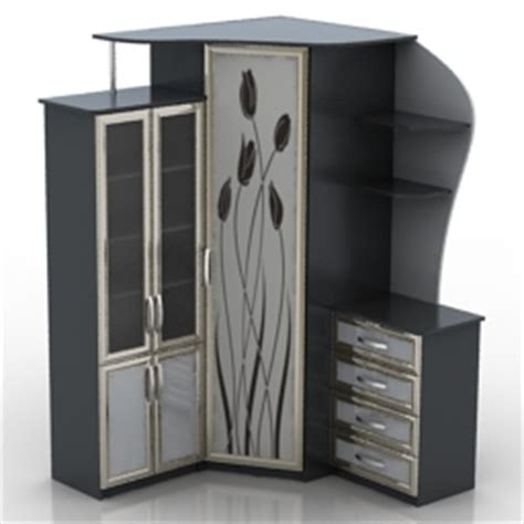 Cupboard Models For by 3d Beds Shkaps Cupboard N261112 3d Model
