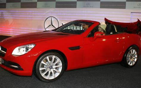 Find the best second hand mercedes slk price & valuation in india! Mercedes-Benz unveils SLK-350 - The Hindu