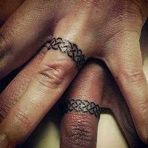 148 sweet wedding ring tattoos With wedding ring tattoos male