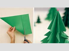 How to Make 3D Paper Christmas Tree DIY & Crafts