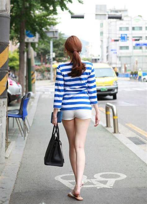 길거리 일반인 각선미 몸매 여자 사진