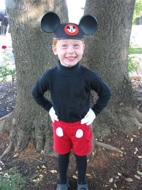homemade costume idea mickey mouse mommysavers