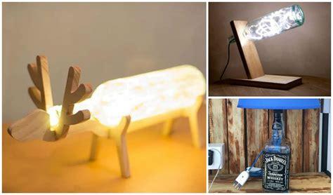 stunning diy glass bottle lamp ideas