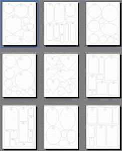 Scrapbooking tags templates printable shapes for Templates for scrapbooking to print