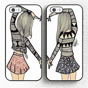 Find More Phone Bags & Cases Information about 2pcs/lot Besties BFF Best BFF Best Friend