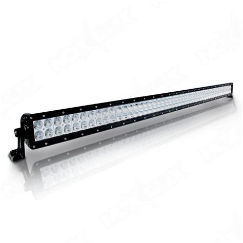 road 50 quot inch dual row led light bars nox