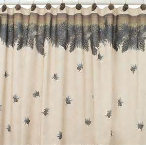 Pine Cone Shower Curtain by Chapel Curtain Design Hill Shower Curtain Design