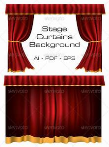 4126 best vector graphic stock print template ai esp psd for Theatre curtains psd