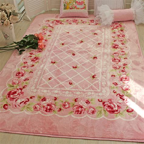 pink shabby chic rug shabby chic rug