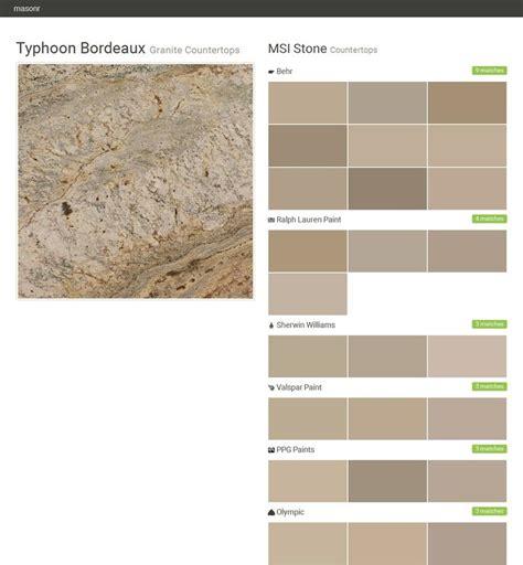 typhoon bordeaux granite countertops countertops msi stone behr ralph paint sherwin