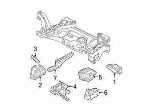 Volkswagen Passat Mount  Transmission  Automatic  Gear  Manual  2 0 Liter  2 0 Liter 2006