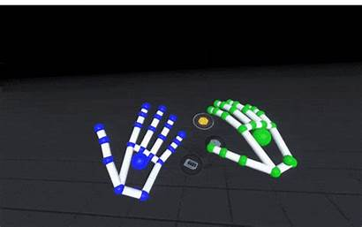 Virtual Reality Interaction Environment Vr Future Prototype