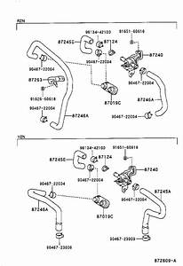 Toyota 4runner Connector  Heater Water Hose  No  2  Rear