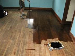 how to refinish wood floors apartment therapy