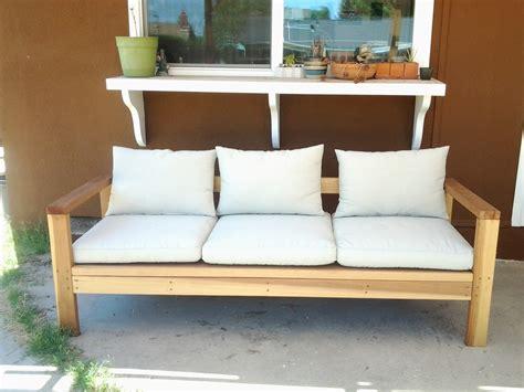 ana white patio sofa  xs diy projects