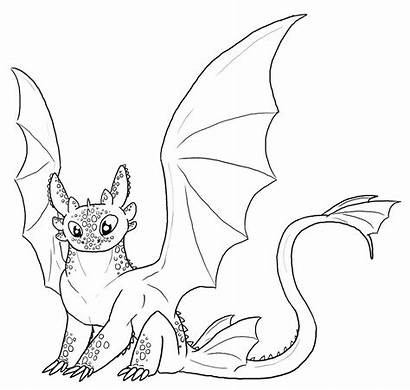 Fury Coloring Night Pages Printable Toothless Getcolorings