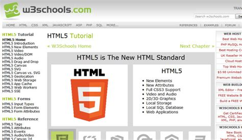 w3schools templates 30 must see html5 tutorials to wow your audience