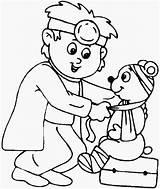 Coloring Hospital Pages Doctor Animal Drawing Printables Bear Doctors Cartoon Bulkcolor Salvat Pe Getcolorings Getdrawings Printable Doghousemusic sketch template