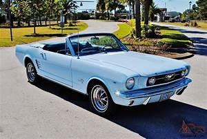 1966 FORD MUSTANG 289 BIG BLOCK V8 CONVERTIBLE