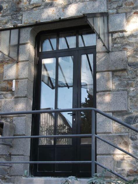 porte coulissante exterieure acier maison design homedian
