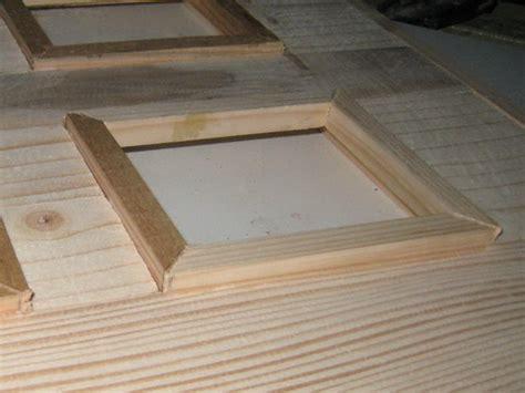 fabrication de cadre photo fabriquer un cadre en bois cadre bleu 4 photos