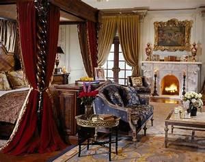 Medieval Castle Bedroom Furniture Set Design and Decor Ideas