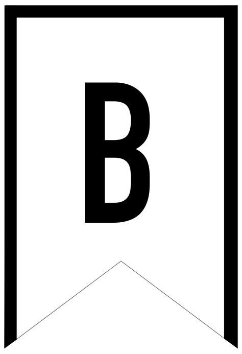 Print Letters Free by Banner Templates Free Printable Abc Letters Paper Trail