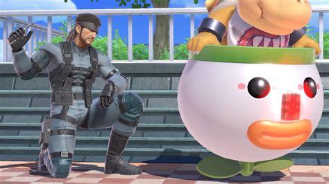 snake returns  super smash bros ultimate  nintendo