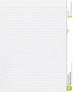 White Paper Lined Royalty Free Stock Images - Image: 21870389