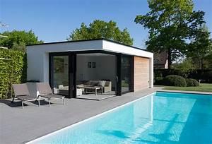 Pool House Toit Plat : veranclassic poolhouse kies voor n op maat ~ Melissatoandfro.com Idées de Décoration
