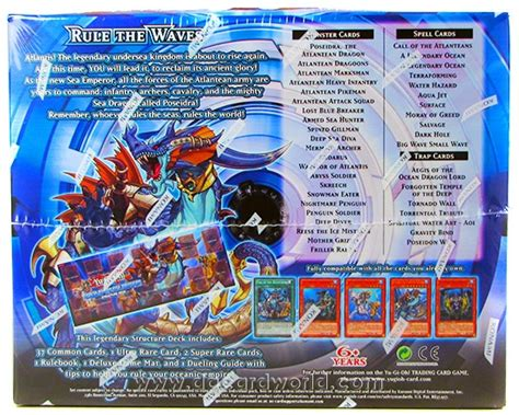 Emperor Structure Deck Strategy by Konami Yu Gi Oh Realm Of The Sea Emperor Structure Deck
