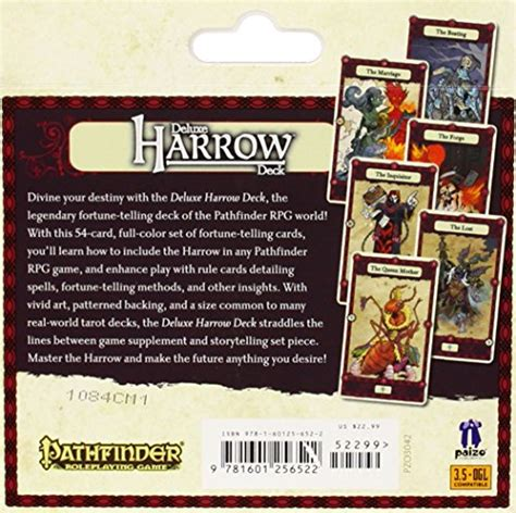 pathfinder caign cards deluxe harrow deck billiard and pool express