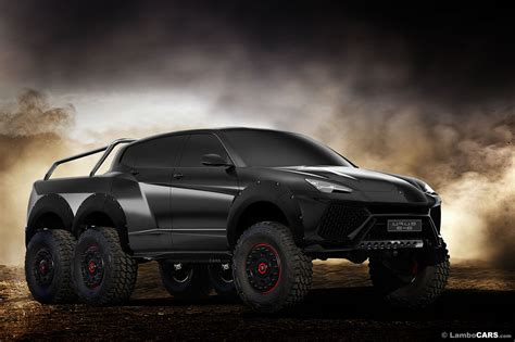 A Lamborghini Urus 6x6 Would Make That Mercedes Look Tame