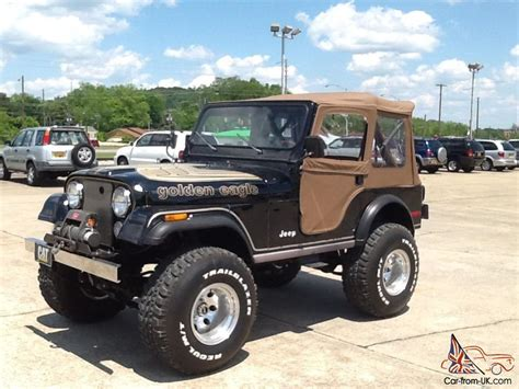 jeep cj golden eagle