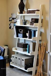 how to build wall shelves Ana White | Leaning Bookshelves - DIY Projects
