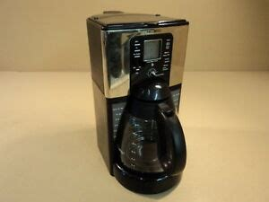 Features of the coffee maker. Mr Coffee Sunbeam 12 Cup Programmable Coffee Maker G Black/Silver FTX41CP   eBay