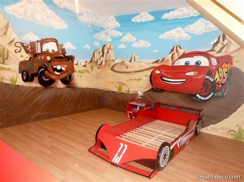 chambre cars disney deco chambre cars walt disney visuel 1