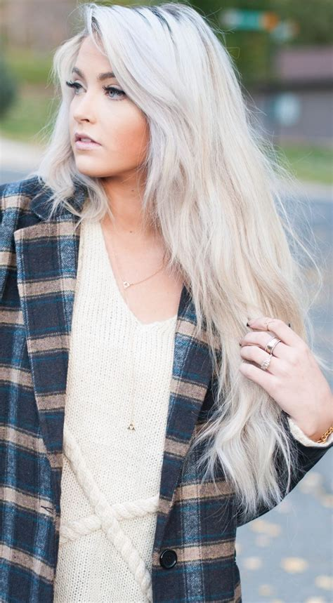 Real Platinum Hair by 25 Best Ideas About White Hair On