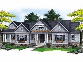 vaulted ceiling house plans cathedral ceiling and exposed wood beams hwbdo13342 ranch from builderhouseplans com