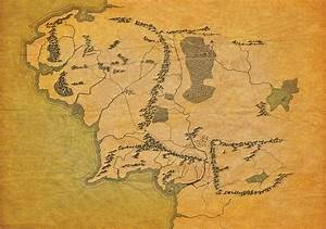 Map Of Middle Earth Without Labels  Enjoy    Lotr