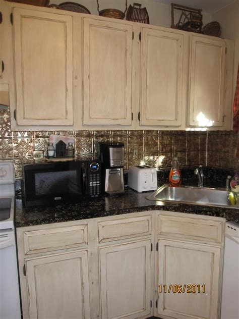 painting and distressing kitchen cabinets lori caromal colour s oak kitchen cabinets my house 7318