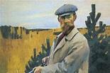 Self-Portrait. Hunting. Boris Mikhailovich KUSTODIEV ...