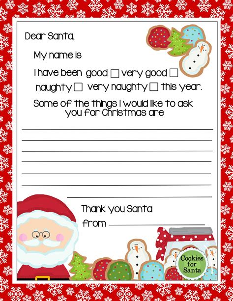 printable dear santa letter backgrounds borders cards 20 letters to santa and printable envelopes 32508