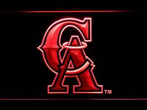 Los Angeles Angels of Anaheim 1995 1996 Logo LED Neon Sign