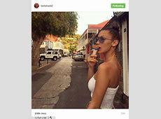 Bella Hadid shares Instagram bikini phot on a yacht during
